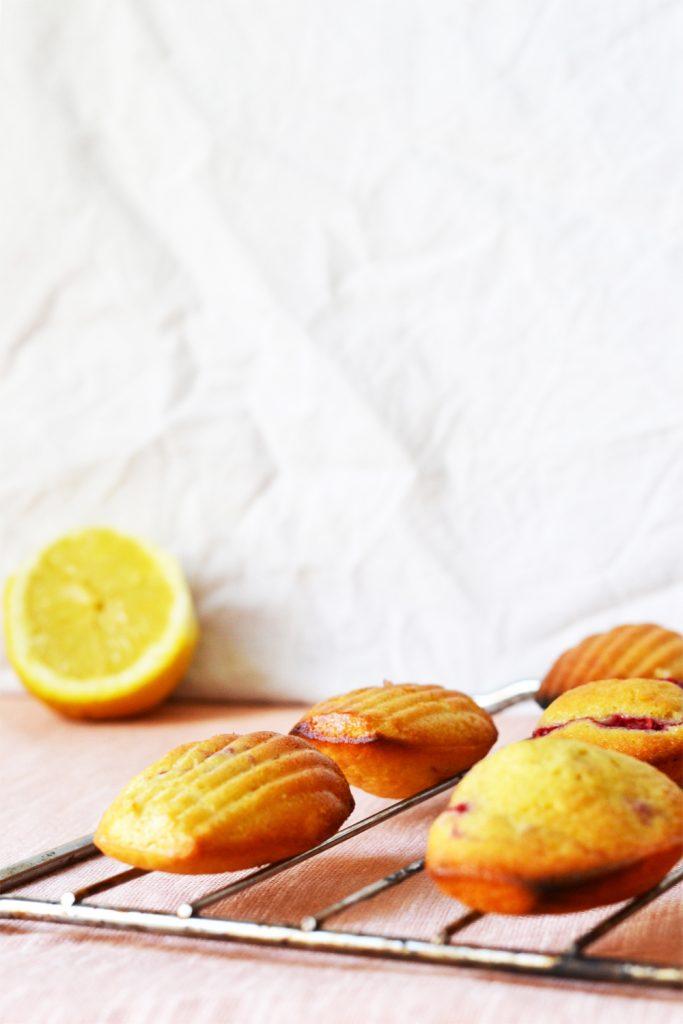 madeleines citron framboise 02