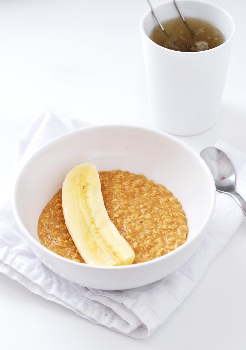porridge vanille au lait de soja banane chocolat cakes nails. Black Bedroom Furniture Sets. Home Design Ideas