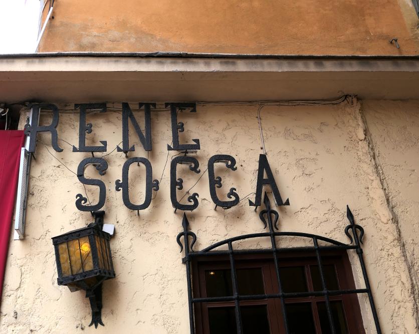 le vieux Nice - René Socca