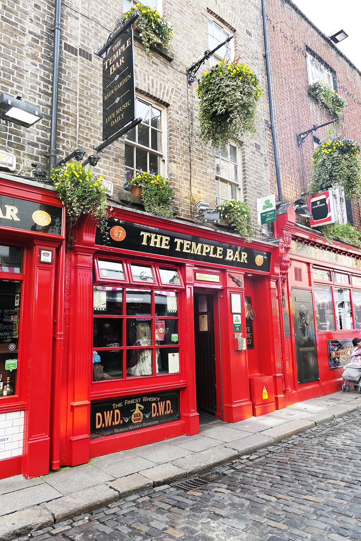 Le Temple Bar - Irlande