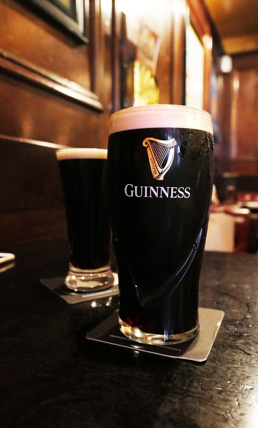 pinte de Guinness - Irlande
