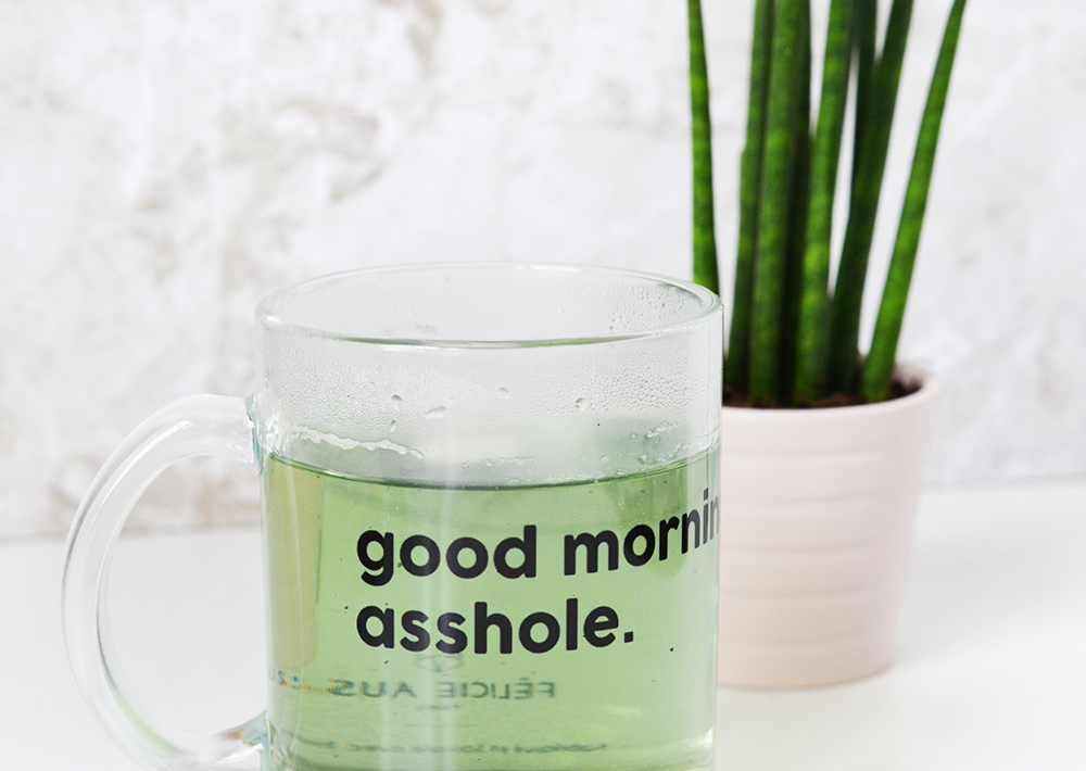 mug - good morning asshole