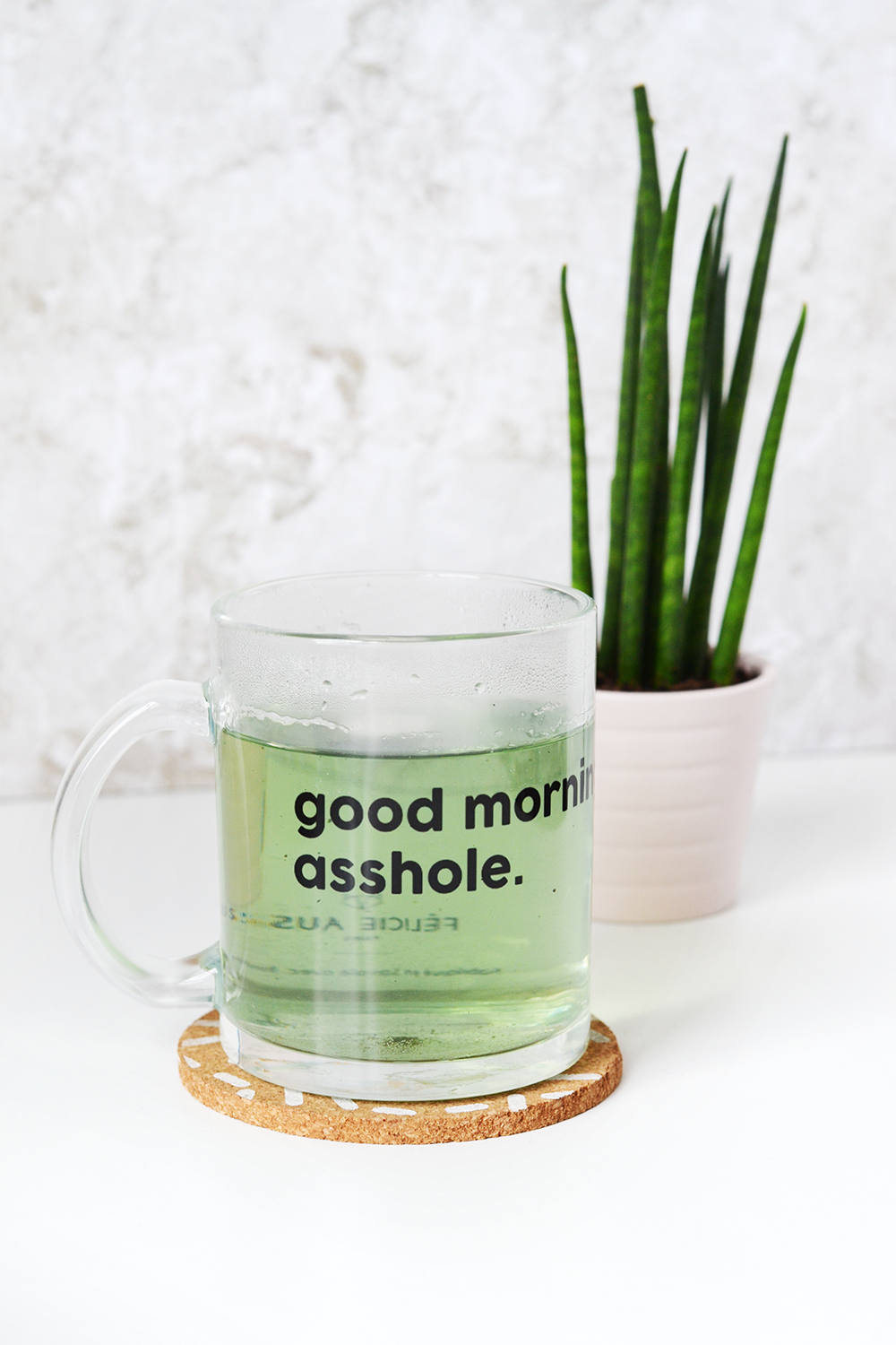 mug - good morning asshole