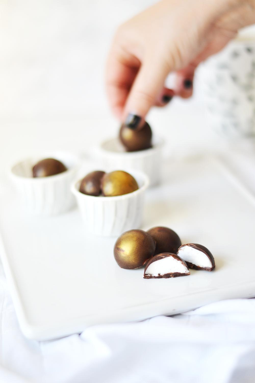chocolats guimauve