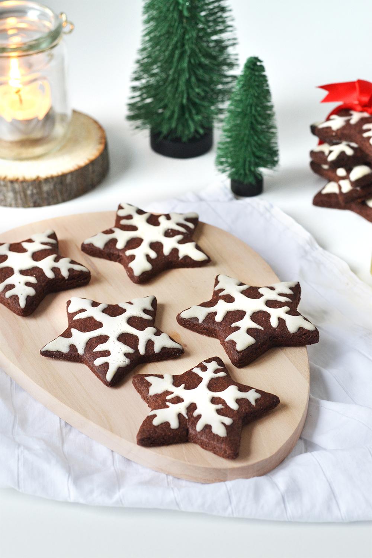 biscuits de noel - cacao gingembre