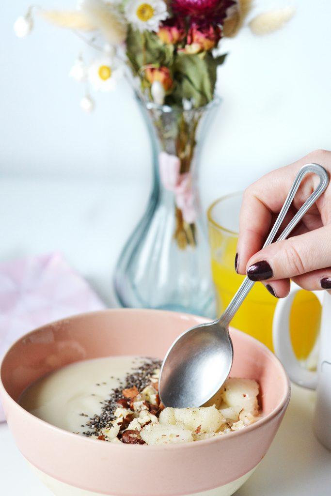 vanilla bowl