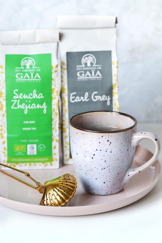 réduction déchets : thé en vrac