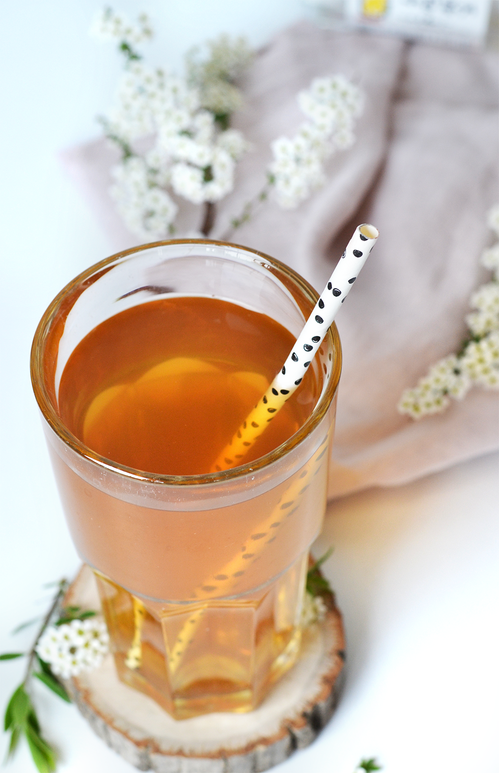 thé glacé yuzu