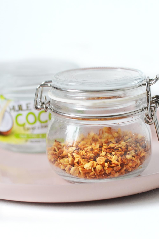 huile de coco - cuisine