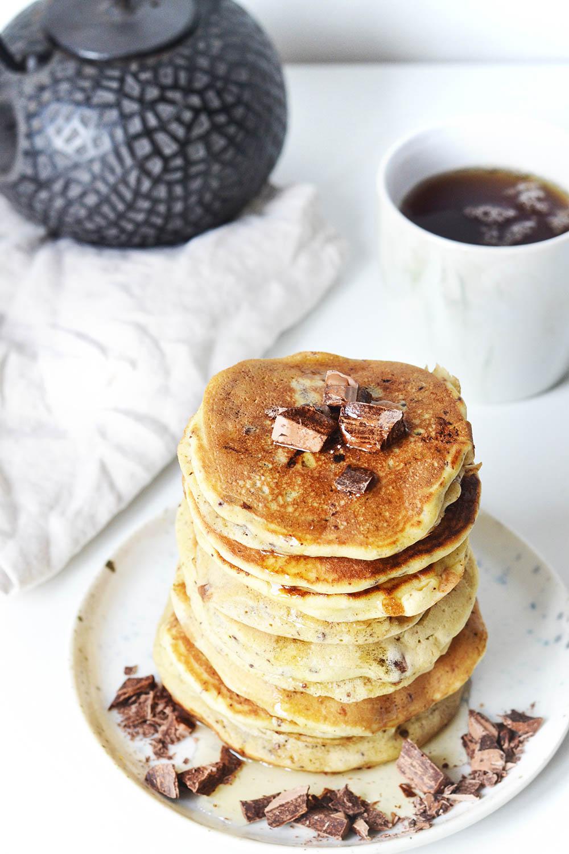 pancakes pepites choco