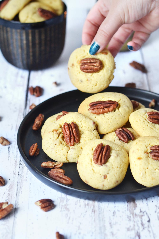 cookies vanille pecan