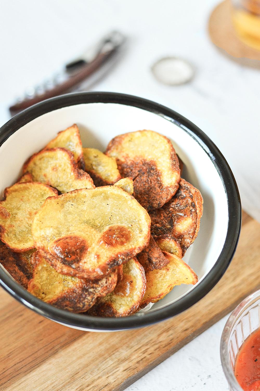 chips pomme de terre maison
