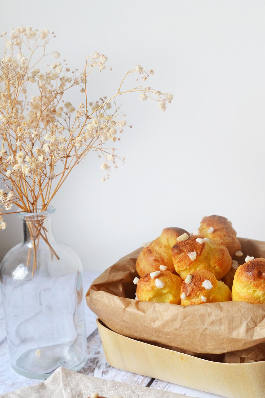 chouquettes fleur d'oranger