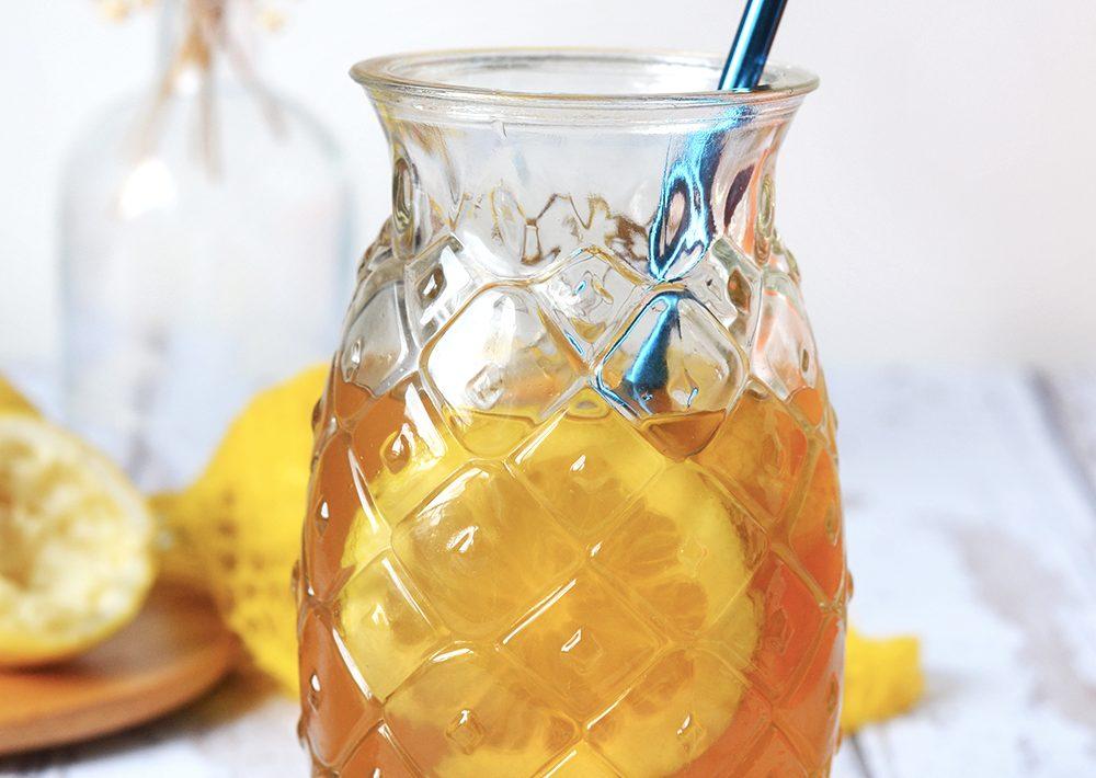 thé glacé citron